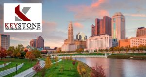 Keystone Insurance Agency LLC - Open Graph View of Columbus Skyline
